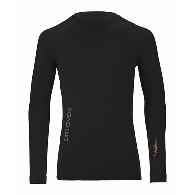 Tricou merino bărbați 230 Competition long sleeve ORTOVOX Black Raven